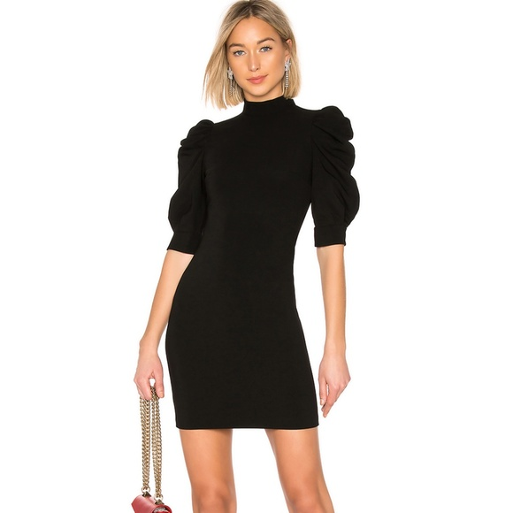 Alice + Olivia Dresses & Skirts - Alice + Oliva Brenna Puff Sleeve Minidress